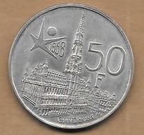50 Frank Argent  Exposition Universelle 1958 FL - 1951-1993: Baudouin I