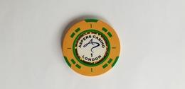 Aspers Casino London UK 1 GBP Casino Chip Jeton - Casino