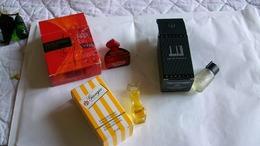 Miniature De Parfum Homme Et Femme  Lot De 3 Avec Boite N° 6 - Modern Miniatures (from 1961)