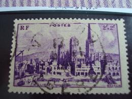 """1900-1945-timbre Oblitéré N° 745   """" Rouen     """"     Cote     0.65   Net 0.20 - France"""