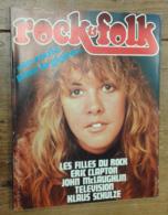 Rock & Folk, N°125 (juin 77) Couverture: Stevie Nicks - Vieux Papiers