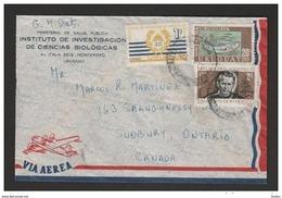 URUGUAY - BUSTA VIAGGIATA 1970 CON VALORE SAN GIOVANNI BOSCO - Uruguay