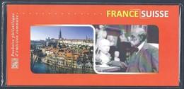 Pochette Philatélique D'émission Commune 2009 FRANCE - SUISSE Neuve Sous Blister ** - Souvenir Blocks