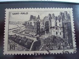 """1900-1945-timbre Oblitéré N°747    """" St Malo     """"     Cote  0.65      Net 0.20 - France"""