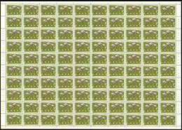 Congo 0487** - 3F Flamants Roses -  Sheet-  Feuille De 100** -MNH- - République Du Congo (1960-64)