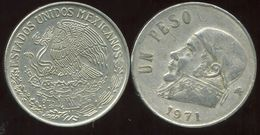 MEXIQUE 1 Peso 1971 - Mexique