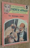 Le Masque Violet (Thérèse Arnaud N°44) - Livres, BD, Revues