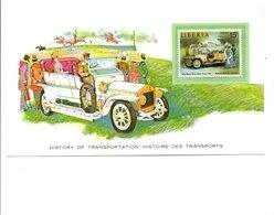 HISTOIRE DES TRANSPORTS LIBERIA ROLLS ROYCE - Cars