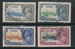 NIGERIA, 1935 Silver Jubilee Set Very Fine Used, Cat £65 - Nigeria (...-1960)