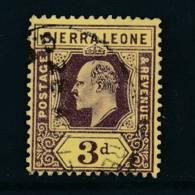 SIERRA LEONE, 1907 3d Superb Used - Sierra Leone (...-1960)