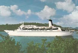 M.v. Cunard Adventurer , 1970s - Dampfer