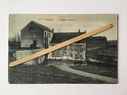 GENAPPE Nº 6 «FABRIQUE BOUFFIOUX ,ANCIEN MOULIN DU CHÂTEAU DE LOTHIER»Panorama(1912)Édit Vve Delpierre- Decorte. - Genappe