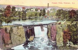 Alte  AK  PATERSON / New Jersey / USA   - Passalc Falls -  Gelaufen 1917 - Paterson
