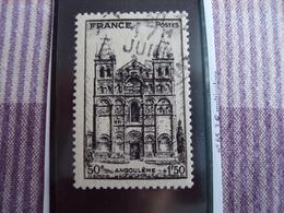 """1900-1945-timbre Oblitéré N°663    """"   Angouleme   """"     Cote   1     Net 0.30 - France"""