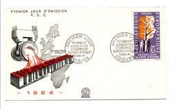 COTE D'IVOIREFDC 1964 ASSOCIATION ECONOMIQUE EUROPE-AFRIQUE - Côte D'Ivoire (1960-...)