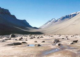 1 AK Antarctica Antarktis * Don Juan Pond Located In The Wright Valley, Is One Of The Saltiest Bodies Of Water On Earth - Cartes Postales