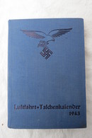 Luftfahrt-Taschenkalender Von 1943 - Calendriers