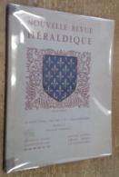 Nouvelle Revue D'Héraldique, 29e Année, Tome I, N°1 (juillet-septembre MCMXLVI) - History