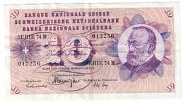 Switzerland 10 Francs 10/02/1971 - Svizzera