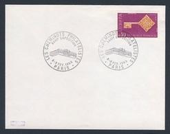 France Rep. Française 1969 Cover / Brief / Enveloppe - XXVIe Exposition - Cheminots Philatelistes, Paris / Ausstellung - Treinen