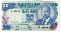 Kenya 20 Shillings 01/07/1984 - Kenia