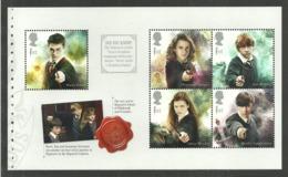 GB 2018 HARRY POTTER FILMS CHESS SWORDS PRESTIGE BOOKLET PANE MNH - 1952-.... (Elizabeth II)