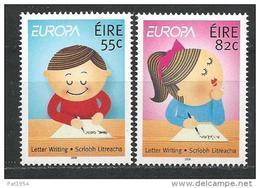 """Irlande 2008 N°1830/1831 Neufs ** Europa """" L'écriture"""" - 1949-... République D'Irlande"""