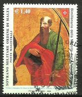 2008 ORDINE DI MALTA SMOM  Serie Completa Usata FDC Bellissima - Malte (Ordre De)