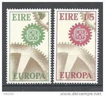 Irlande 1967 N°191/192 Neufs ** Europa - 1949-... République D'Irlande