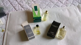 Miniature De Parfum Homme Et Femme  Lot De 3 Avec Boite N° 30 - Modern Miniatures (from 1961)