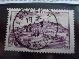 "1946-timbre Oblitéré N° 759   ""  Vezelay    ""     Cote      0.30  Net     0.10 - France"
