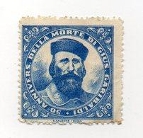 Italia - 1932 -  ETICHETTA - ERINNOFILO - 50° Anniversario Della Morte Di Giuseppe Garibaldi - Vedi Foto - (FDC13207) - Erinnofilia