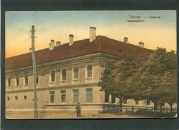 CPA - ZEIDEN - Kaserne - Feketehalom, Animé - Caserme
