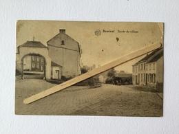 GENAPPE-BOUSVAL «ENTRÉE DU VILLAGE «Panorama,camion Avec Marchandises (1934)Édit Miesse- Denis (ALBERT) - Genappe
