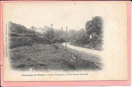 Tramways De L'Indre - Ligne D'Argenton à Saint Benoit Du Sault. - France