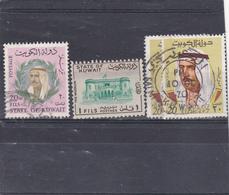 Koweit Oblitéré  1966-69    Entre N°  292 Et 451    Cheik Abdullah Salim, Musée Du Kowait, Effigie De L'émir - Koweït