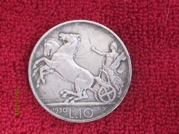 10 Lire Biga 1930 (rare) - 1861-1946 : Regno