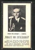 AK Porträt Alexander I. Von Serbien - Serbien