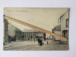 GENAPPE»PLACE DE L'EMPEREURE « Animée ,attelage,(Vve ,Delpierre - Decorte ) M.MARCOVICi. - Genappe