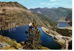 En Parcourant Les Pyrénées  Le Lac De Cap De Long , Détails Au Dos ; Expédiée De Toulouse - Toulouse