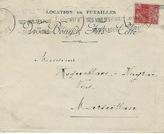 Y&t 272.cette Bonny Et Fils-location De Futailles Vers Marseillan - France