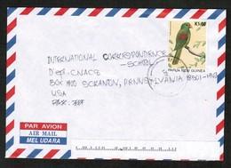 PAPUA NEW GUINEA   SCOTT # 892 On AIRMAIL COVER To SCRANTON, PENN. USA (12/NO/98) (OS-441) - Papouasie-Nouvelle-Guinée