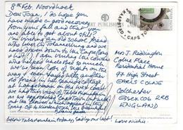 """Timbre , Stamp """" Artisanat """" Sur Cp , Carte , Postcard Du 08/02/2012 - Afrique Du Sud (1961-...)"""
