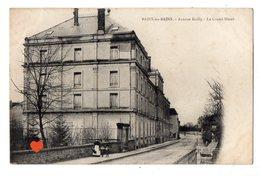 35239-ZE-88-BAINS-les-BAINS-Avenue Bailly-Le Grand-Hôtel------------animée - Bains Les Bains