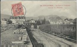 Vosges : Gerardmer, La Gare A L'Interieur, Arrivée De L'Express - Gerardmer