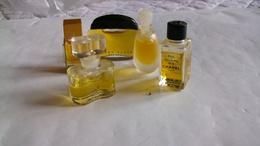 Miniature De Parfum Homme Et Femme  Lot De 5 Sans Boites N° 7 - Modern Miniatures (from 1961)