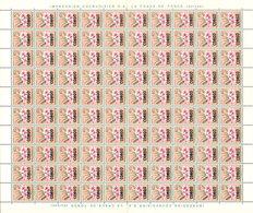Congo 0385** 40c -  Feuille / Sheet De 100 -MNH- - République Du Congo (1960-64)