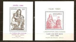 Rwanda Ruanda 1980 1981 OBCn° Bloc 90 91 *** MNH  Cote 16 Euro Noel Kerstmis - Rwanda