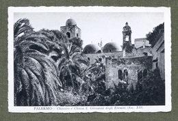 Cartolina Palermo - Chostro E Chiesa S. Giovanni Degli Eremiti - 1936 - Palermo