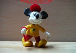 """Kinder 1987 : Mickey Avec Une Cane """"Mickey & Ses Amis"""" - Cartoons"""